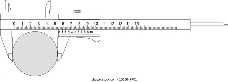 calliper measuring instrument