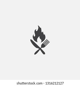 calories base icon. Simple sign illustration. calories symbol design. Can be used for web, print and mobile
