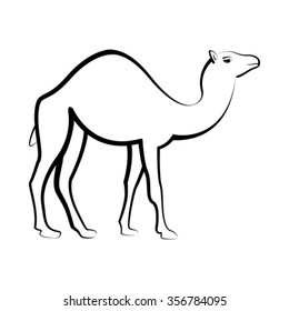 Camel Drawing Images, Stock Photos & Vectors | Shutterstock