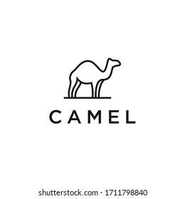 camel logo vector icon designs