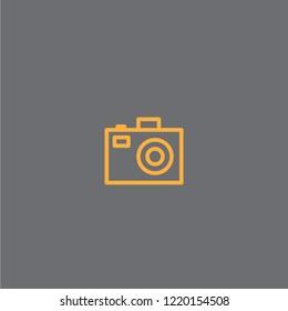 Camer vector icon