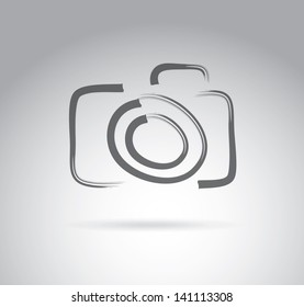 Camera Icon Pixel Art Images Stock Photos Vectors