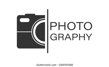 Camera device sign icon in flat style. Photography vector illustration on white isolated background. Cam equipment business concept.