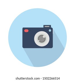 Camera flat icon - From Multimedia, Camera and Photography icons set