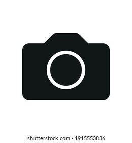 Camera icon for graphic design projects