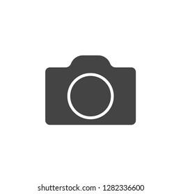 Camera icon graphic design template simple illustration