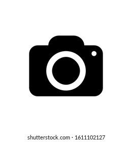Camera Icon isolated on white background. Camera symbol for your web site design, logo, app, UI. Vector illustration