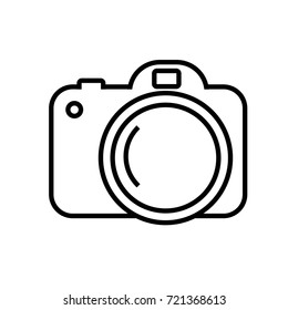 Camera Outline Images, Stock Photos & Vectors | Shutterstock
