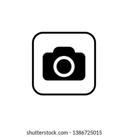Camera Icon. Camera symbol. Camera vector icon