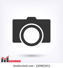 Camera Icon VECTOR 10  EPS