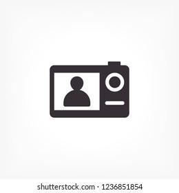 Camera icon. Vector  Eps 10