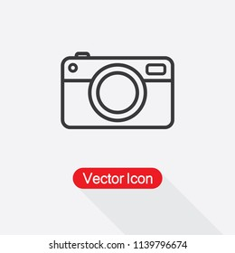 Camera Icon Vector Illustration Eps10