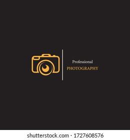 Camera icon vector logo design