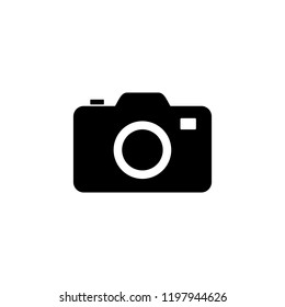 Camera icon vector. symbol for web site Computer and mobile vector.