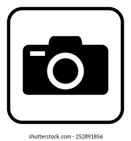 Camera icons. Vector illustration.