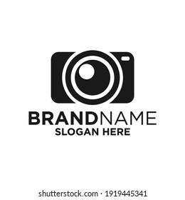 Camera Logo Design Template Inspiration, Vector Illustration, Photography. Movie, Cinema.
