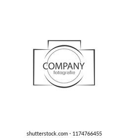 camera logo for photographer
