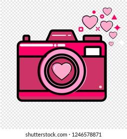 camera, love, valentines day