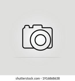 Camera Photography Icon Logo Template Vector Design.Eps 10.