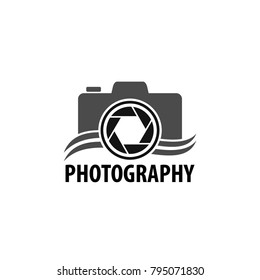 Camera Photography Logo Design Vector