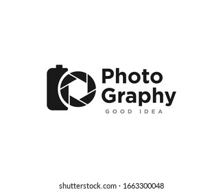 Camera Photography Logo Icon Design Vector