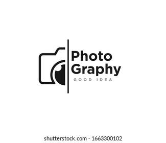 Camera Photography Logo Icon Design Vector