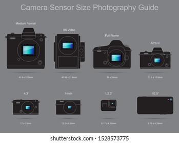 Camera Sensor Size Photography Guide