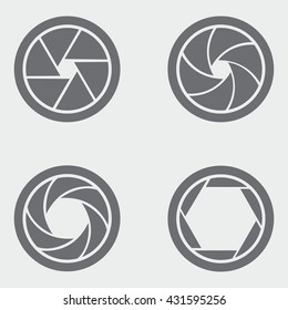 Camera Shutter Icons