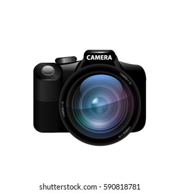 Camera. Vector