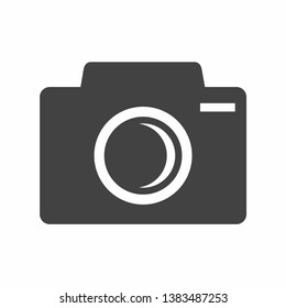 Camera vector Icon on white background