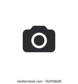 Camera vector icon. Photo Camera.