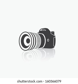 Camera - vector illustration