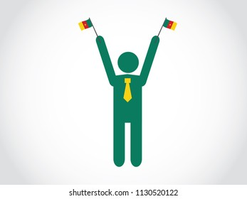 Cameroon Businessman Celebrate