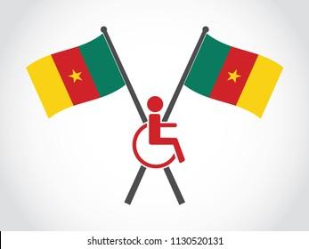 Cameroon Emblem Disability
