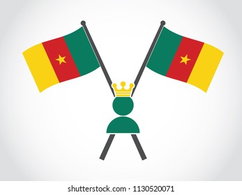 Cameroon Emblem King