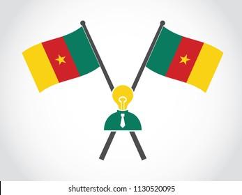 Cameroon Emblem Lack Of Idea Businessman