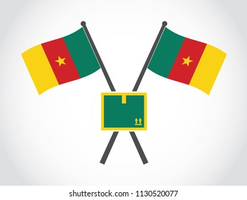 Cameroon Emblem Package Delivery