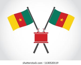 Cameroon Emblem Podium