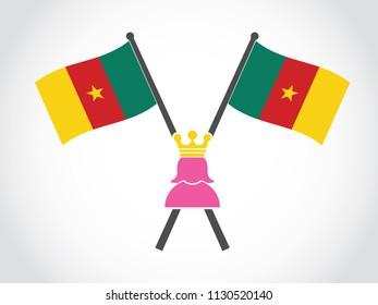 Cameroon Emblem Queen