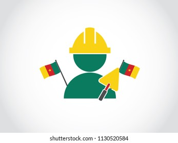 Cameroon Local Construction Worker