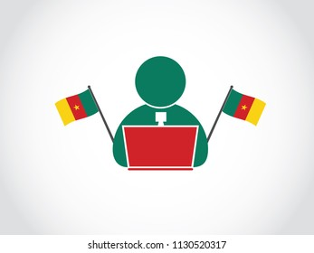 Cameroon Local Office Worker