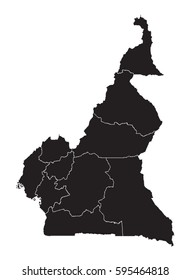 Cameroon - map