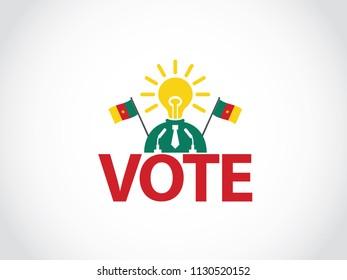 Cameroon Podium Bright Idea Politician  Speech Election