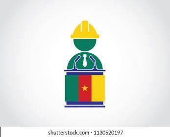 Cameroon Podium Builder Speech