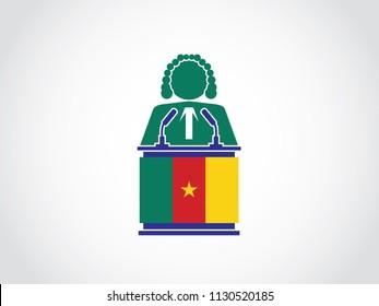 Cameroon Podium Judge Speech