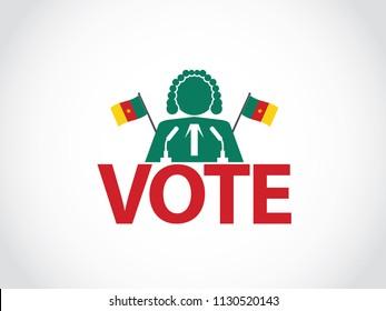 Cameroon Podium Judge Speech Election