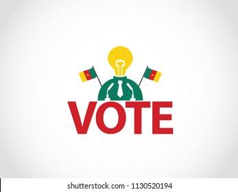 Cameroon Podium Lack Of Idea Politician Speech