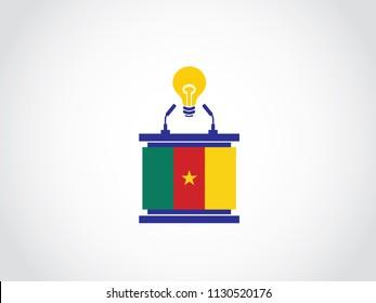 Cameroon Podium Lack Of Idea Speech
