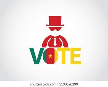 Cameroon Podium Mafia Speech Vote