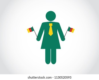 Cameroon State Businesswoman